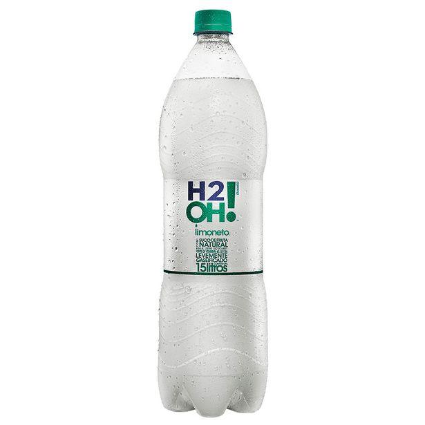 Oferta de H2OH! Limão Limoneto 1,5 Litros por R$5,75