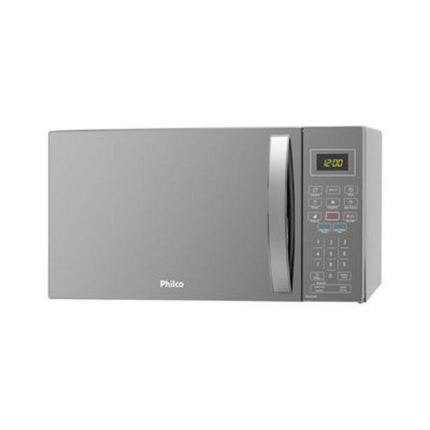 Oferta de Micro-ondas Philco PMO26ES 26 Litros Espelhado 110V por R$494,91
