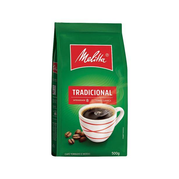 Oferta de Café em Pó Melitta 500g por R$10,19