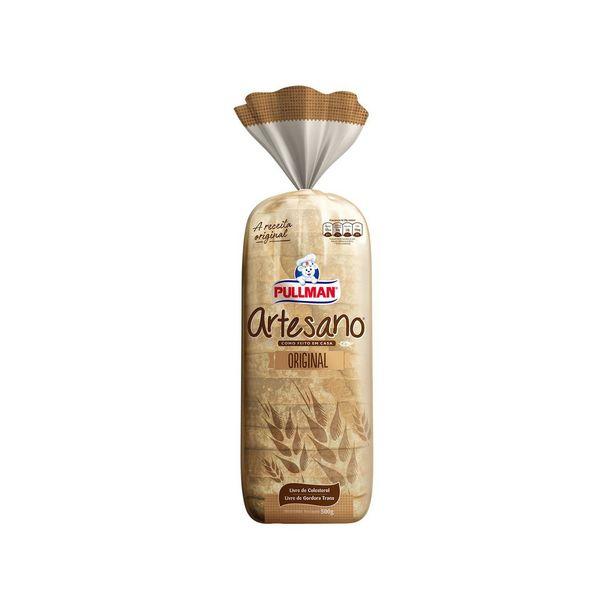 Oferta de Pão de Forma Artesano Pullman 500g por R$7,99