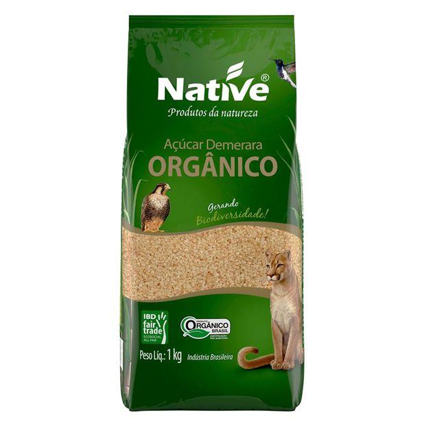 Oferta de Açúcar Demerara Orgânico Native 1Kg por R$5,75