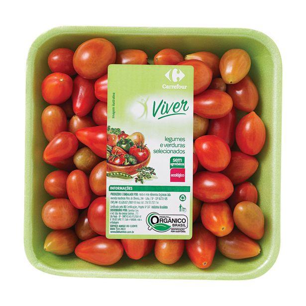 Oferta de Tomate Orgânico Carrefour Viver por R$7,85