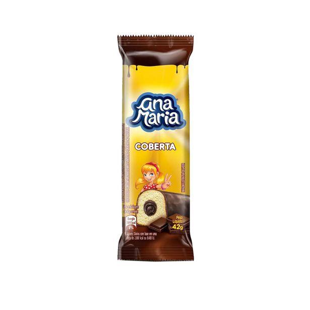 Oferta de Mini Bolo Coberta com Chocolate Ana Maria 42g por R$1,45