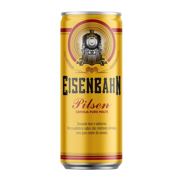 Oferta de Cerveja Eisenbahn Pilsen 350ml por R$3,15