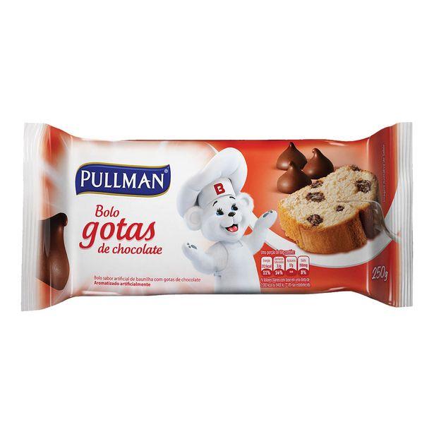 Oferta de Bolo de Gotas de Chocolate Pullman 250g por R$6,9