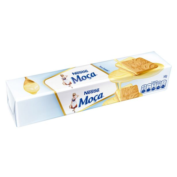 Oferta de Biscoito Recheado Leite Condensado Moça 140g por R$3,1