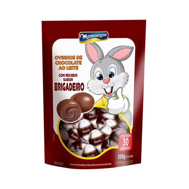 Oferta de Mini Ovos de Chocolate ao Leite com Recheio de Brigadeiro Montevergine 350g por R$14,21