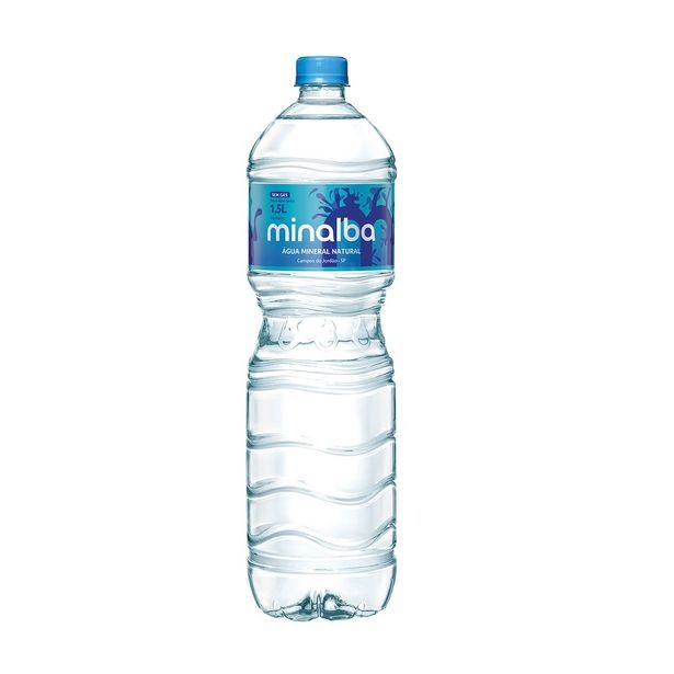 Oferta de Água Mineral sem Gás Minalba 1,5 Litros por R$2,35