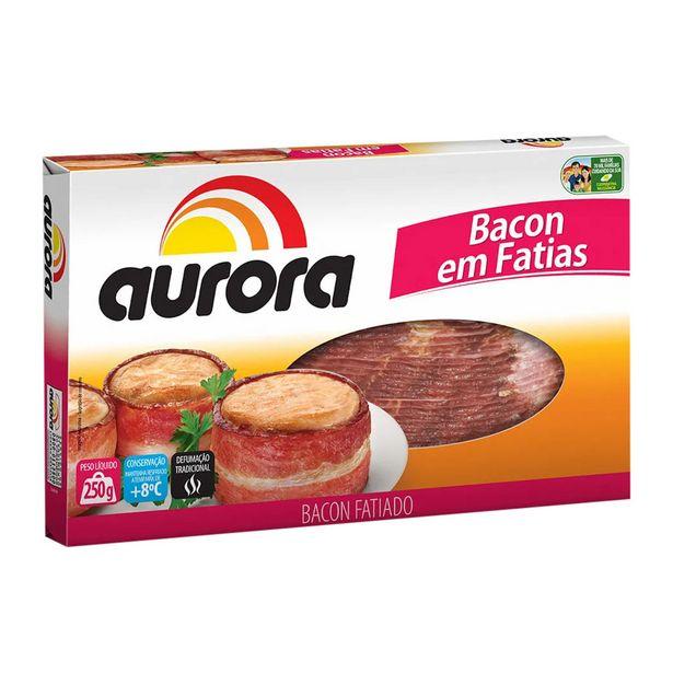 Oferta de Bacon Suíno Resfriado Fatiado Aurora 250g por R$17,15