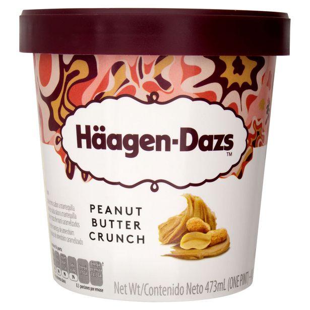 Oferta de Sorvete Peanut Butter Crunch Häagen-Dazs 473ml por R$34,99