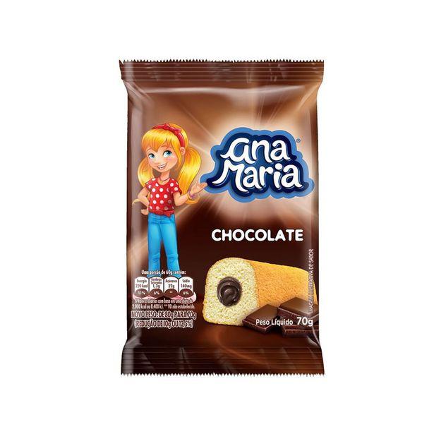 Oferta de Mini Bolo de Chocolate Ana Maria 70g por R$2,99