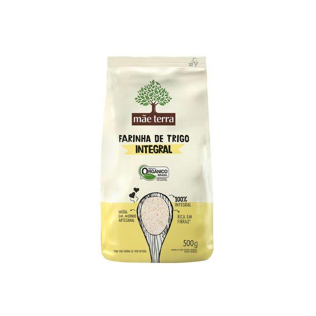 Oferta de Farinha de Trigo Orgânica Mãe Terra 500 g por R$6,69