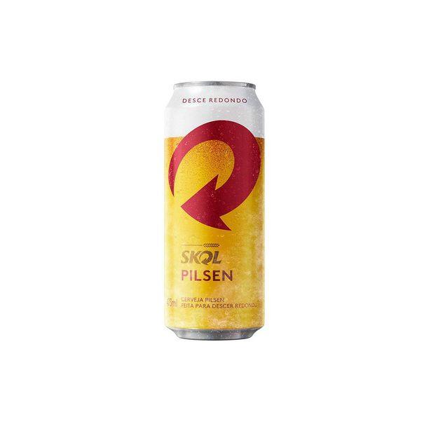 Oferta de Cerveja Skol Pilsen Lager 473ml por R$3,09