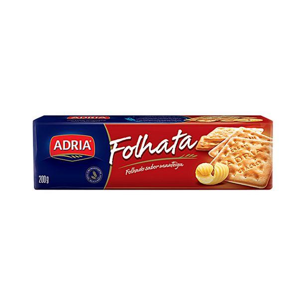Oferta de Biscoito Cream Cracker Manteiga Adria Ouro 200g por R$2,15