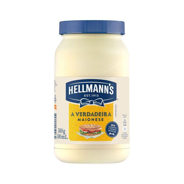 Oferta de Maionese Hellmann's Tradicional 500 g por R$7,4