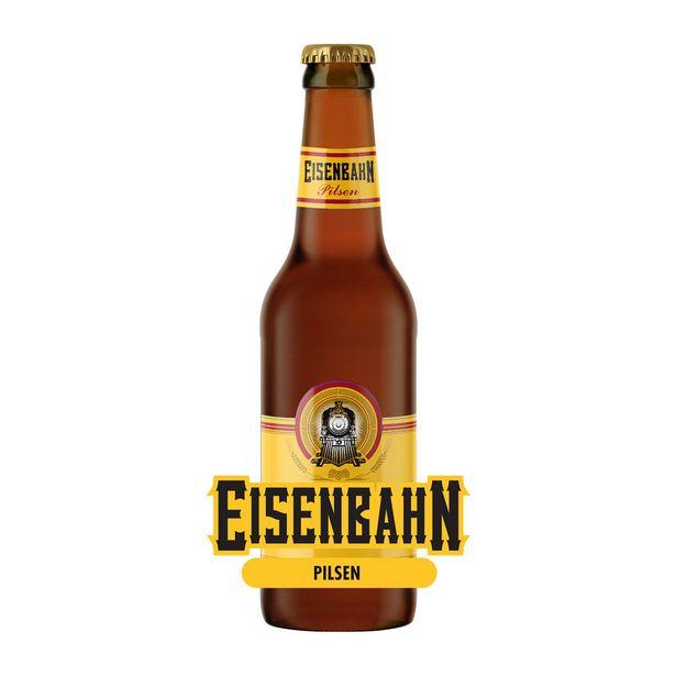 Oferta de Cerveja Eisenbahn Pilsen 355ml por R$3,35