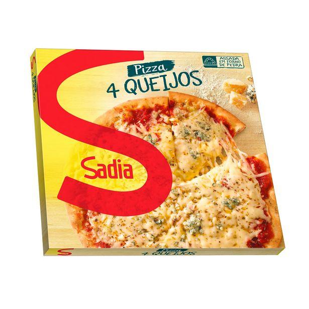 Oferta de Pizza de Quatro Queijos Sadia 460g por R$12,85