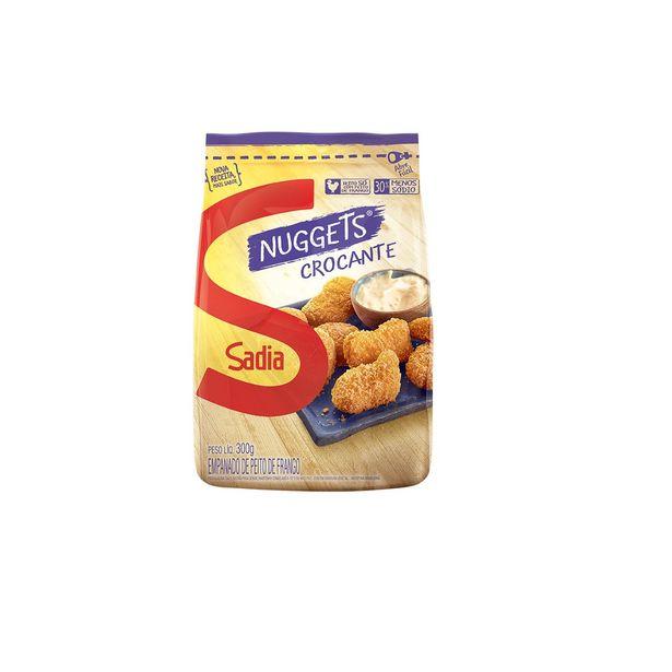 Oferta de Nuggets de Frango Crocante Sadia 300g por R$8,9