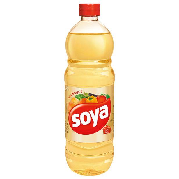 Oferta de Óleo de Soja Soya 900ml por R$7,75