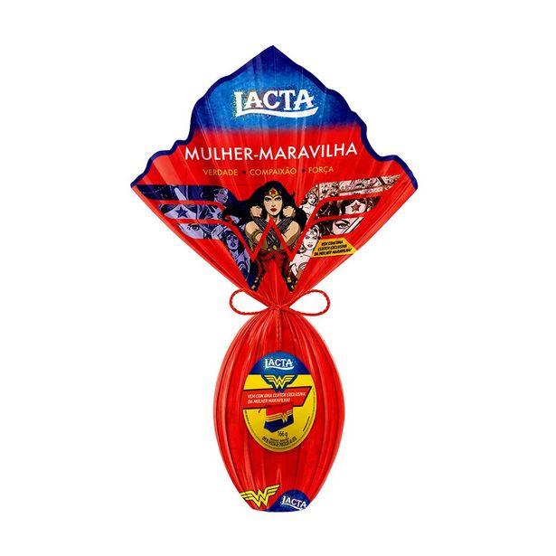 Oferta de Ovo de Páscoa de Chocolate ao Leite Lacta Mulher Maravilha 166g - Núm. 15 por R$32,9