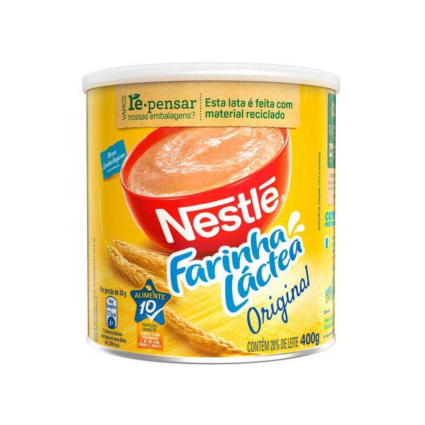 Oferta de Farinha Láctea Nestlé Tradicional 400 g por R$11,75