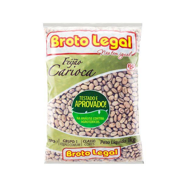 Oferta de Feijão Carioca Tipo 1 Broto Legal 1 Kg por R$7,79