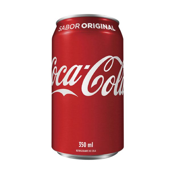 Oferta de Coca-Cola 350ml por R$2,7