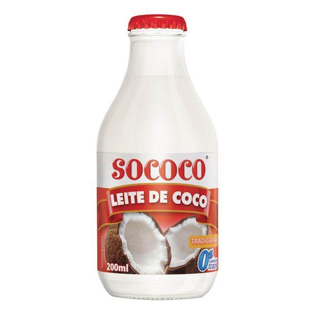 Oferta de Leite de Coco Culinário Sococo 200ml por R$5,45