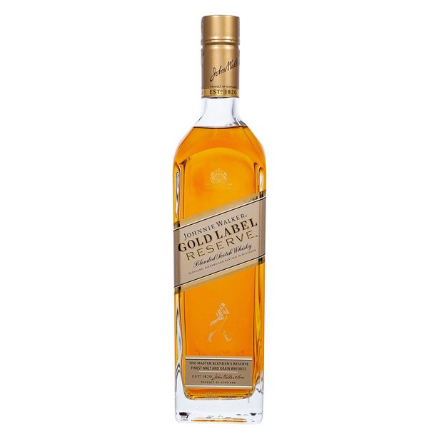 Oferta de Whisky Johnnie Walker Gold Label Reserve 750 ml por R$189,9
