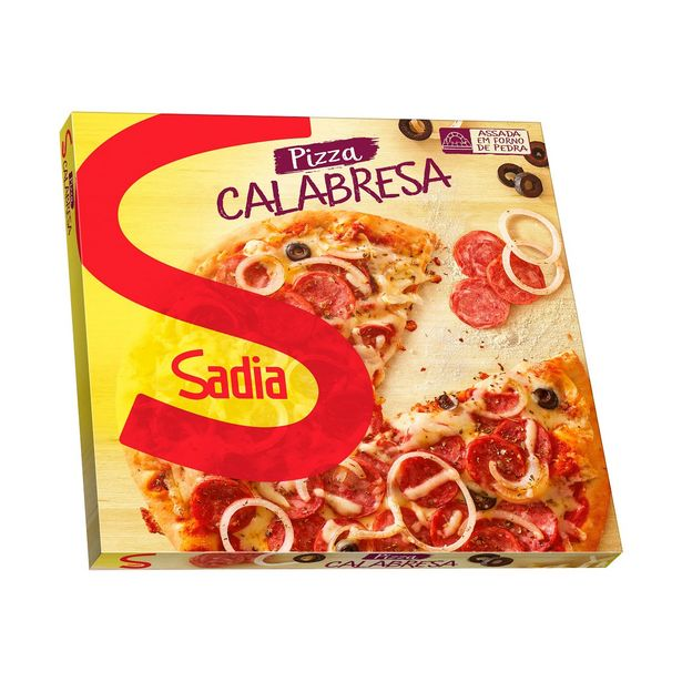 Oferta de Pizza de Calabresa Sadia 460g por R$15,99