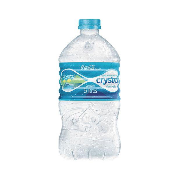 Oferta de Água Mineral sem Gás Crystal 5 Litros por R$7,19