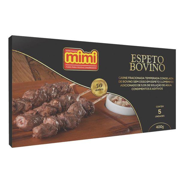 Oferta de Espetinho de Carne Bovina Congelado Mimi 400g por R$15,6