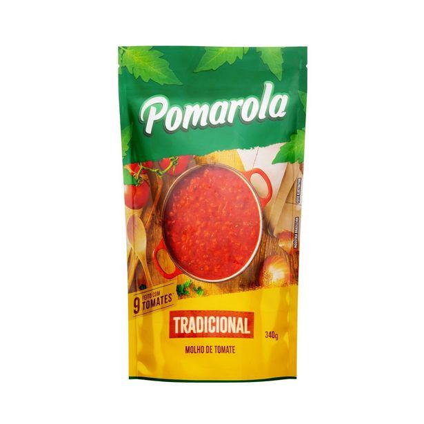 Oferta de Molho de Tomate Tradicional Pomarola Sachê 340g por R$2,39