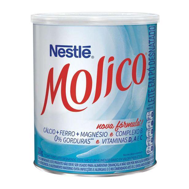 Oferta de Leite em Pó Desnatado Nestlé Molico 280g por R$16,05