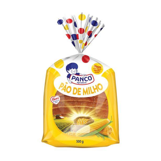 Oferta de Pão de Milho Panco 500g por R$7,99
