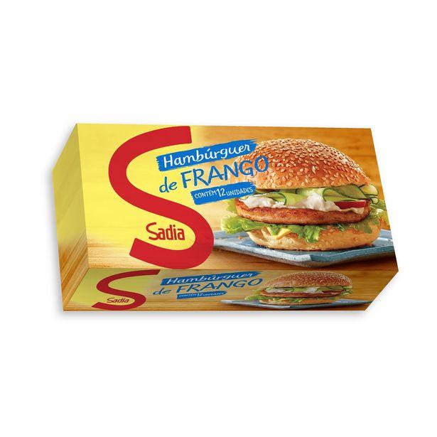 Oferta de Hambúrguer de Frango Congelado Sadia 12 Unidades por R$18,39