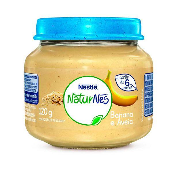 Oferta de Papinha Naturnes de Banana com Aveia Nestlé 120g por R$3,65