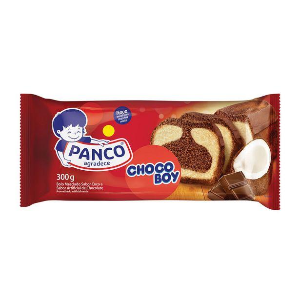 Oferta de Bolo Chocoboy Panco 300g por R$8,9