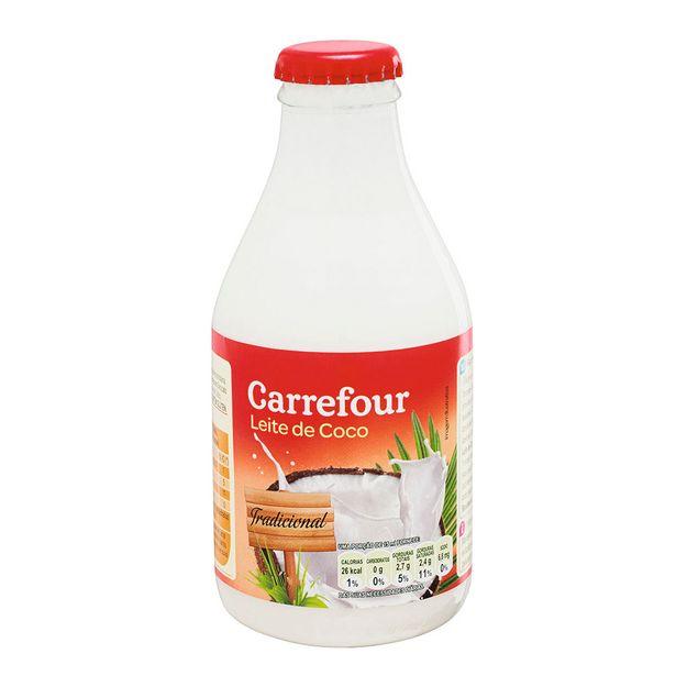 Oferta de Leite de Coco Culinário Carrefour 200ml por R$3,39