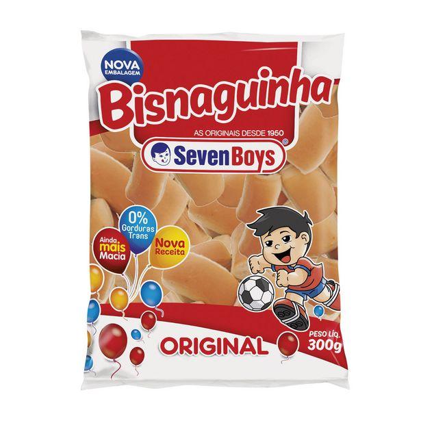 Oferta de Bisnaguinha Seven Boys 300g por R$2,99