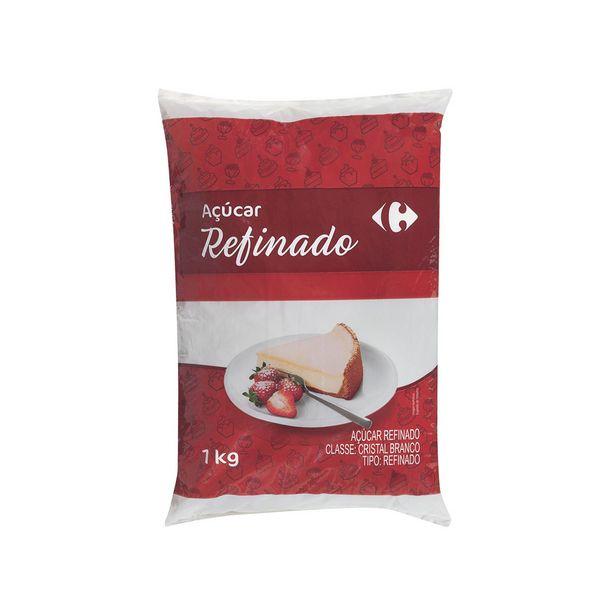 Oferta de Açúcar Refinado Carrefour 1kg por R$2,95