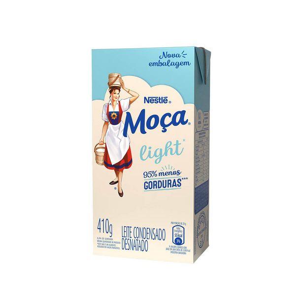 Oferta de Leite Condensado Moça Light  410g por R$7,19