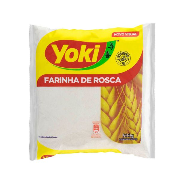 Oferta de Farinha de Rosca Yoki 500g por R$8,5