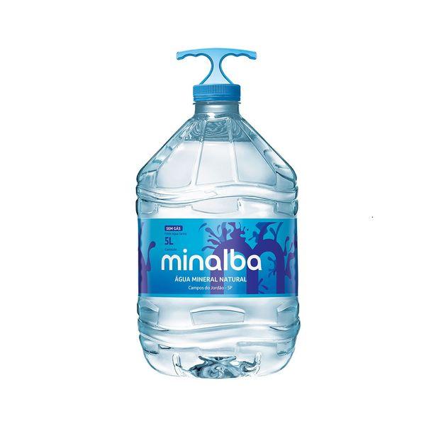 Oferta de Água Mineral sem Gás Minalba 5 Litros por R$5,88