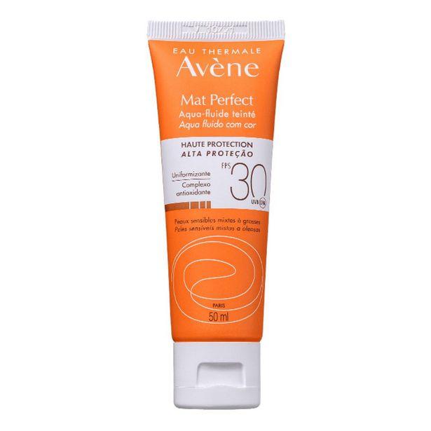 Oferta de Protetor Solar Facial Avene Matte Perfect Com Cor FPS30 50ml por R$48,4