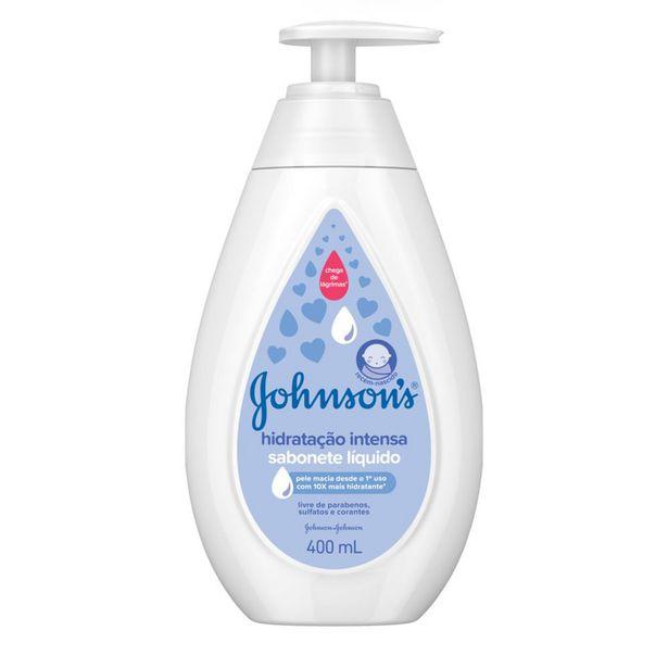 Oferta de Sabonete Cremoso Johnsons Baby Hidratação Intensa 400ml por R$18,38