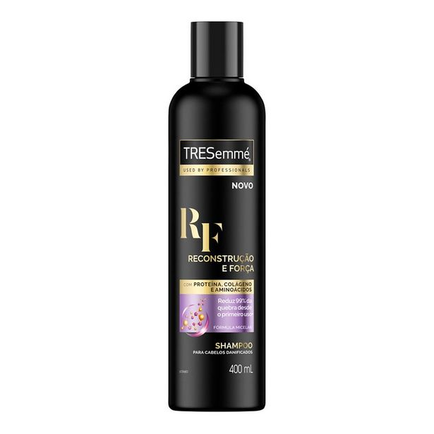 Oferta de Shampoo TRESemmé Reconstrução e Força 400ml por R$10,34