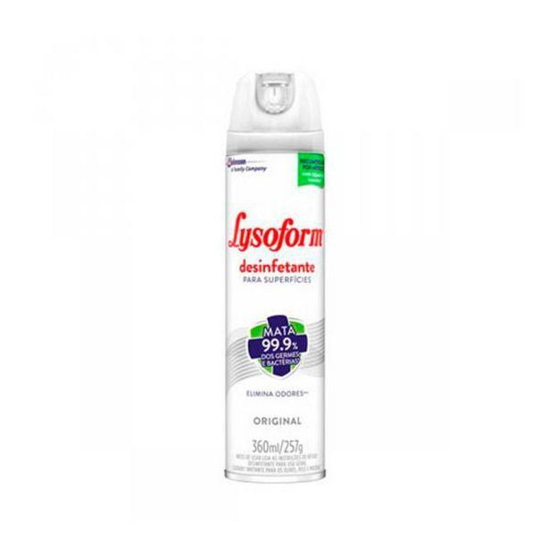 Oferta de Desinfetante Lysoform Spray Original 360ml por R$19,99