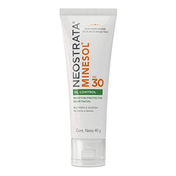 Oferta de Protetor Solar Facial Neostrata Minesol Oil Control Fps30 40g por R$49,51