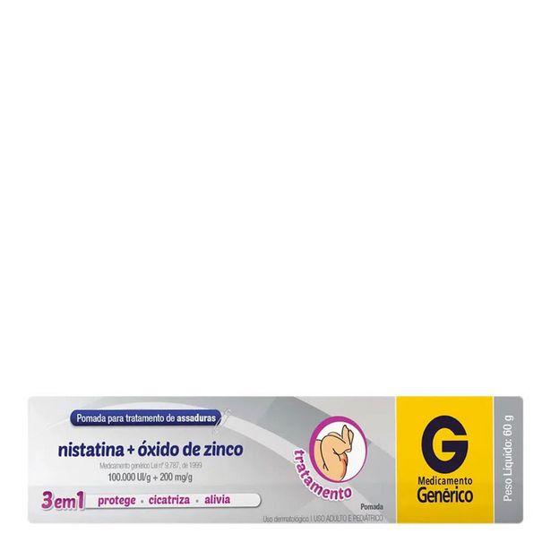 Oferta de Nistatina + Oxido De Zinco Cimed Pomada 60g por R$9,9